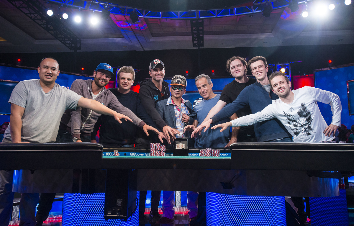 WSOP 2016, Part 6: Big players